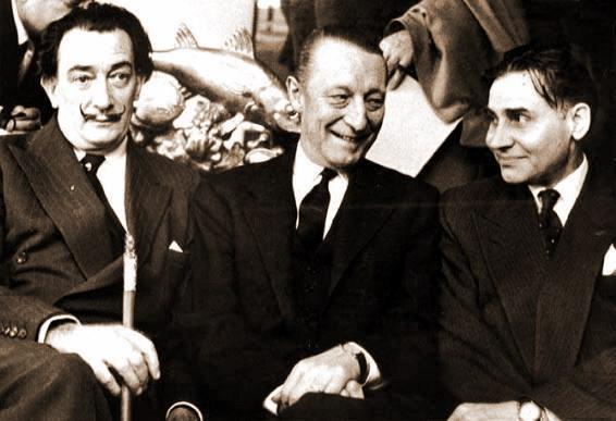 Salvador-Dali-Kurt-Waldheim-Constantin-Antonovici