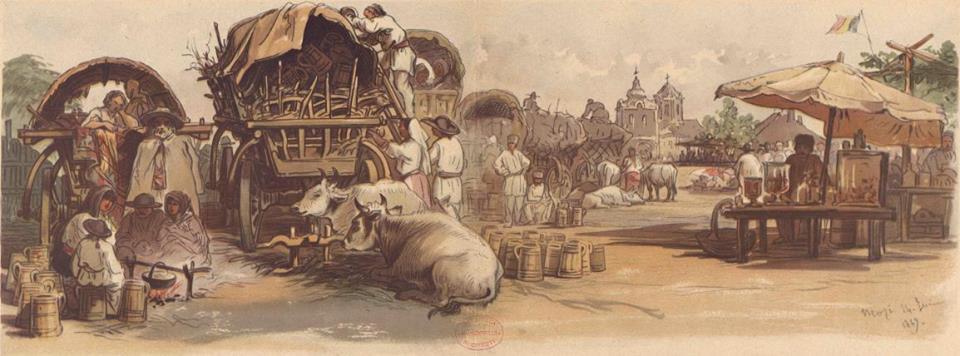 În 1863 Londra inaugura prima linie de metrou. În 1869 Bucureştiul arăta ca un sat mai mare.